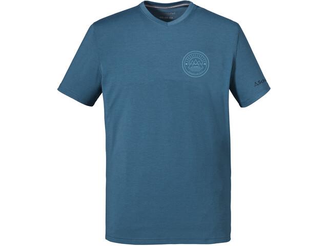 Schöffel Nuria1 Camiseta Hombre, azul